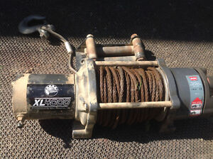 4000lb warn winch for parts or repair.
