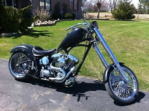 custom harley chopper