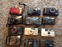 Joblot of cameras / assessor's