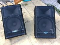 "Samson 12"" monitors"