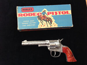 Antique toy gun collection - 9 toys total