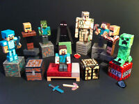 Minecraft STOCKING STUFFERS figures with accessories