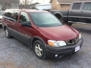 2004 Pontiac Montana rust free Alberta van runs like new $1500.0
