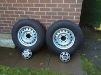 4x4 Bridgestone 22/75/15 tyres and rims 4 of