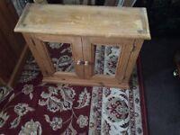 Rustic pine cupboard