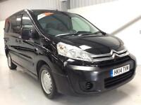 14 CITROEN DISPATCH BLACK ENTERPRISE 38,000 1.6HDi 1000 L1H1 SWB LOW MILES
