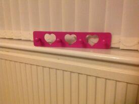 Hearts Hook Rail
