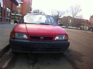 1995 Toyota Tercel Coupe (2 door)for quick sale 60% is off=>$600