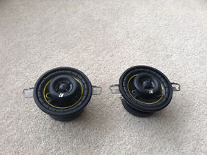 Kicker DS350 Speakers   3- 1/2""