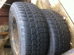 FORD f150 WINTER TIRES AND RIMS BARELY USED St. John's Newfoundland image 4