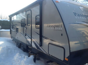 Roulotte Passport 2015 Grand Touring 2400BH