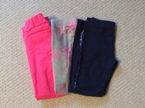 3 Pair of Girls' GAP Brand Pants Size 10 - New Condition!