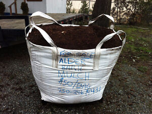 Alder and Maple Bark Mulch