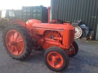 Petrol Paraffin 1942 Case DC4 Tractor