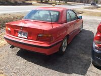 1994 bmw 325ic, cabriolet, 2 toits