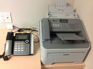 Phone and Fax,Scan, Photo copier.
