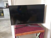 Television tv telly Samsung ue32j5500