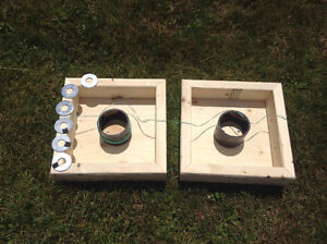 Washer toss /ring toss game