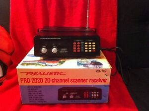 Vintage UVHF AM/FM Direct Entry Programmable Scanner. Sarnia Sarnia Area image 1