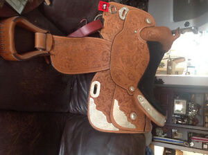 New Billy Royal Western Show Saddle