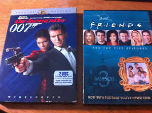 James Bond 007 Die Another Day Special Edition TMNT Friends DVDs