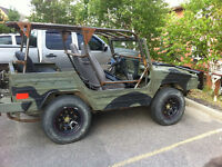 1985 bombardier Iltis with custom roll cage and extras