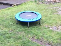 Mini trampoline, exercise equipment