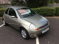 2003 Ford KA 1.3 Style-40,000 miles-2 owners-May 17 mot-Service history-great example