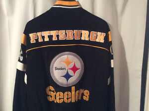 Pittsburgh Steelers Leather/Suede Jacket