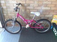Girls Diva Raleigh Bike