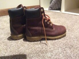 Women's Timberland waterproof leather boots