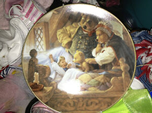 Goldilocks and Three Bears collector plate for sale