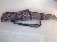 Deer hunter rifle slip.