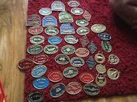43 barge badges