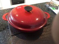 Le Creuset shallow casserole 26cm