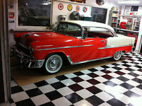 Beautiful Original 1955 Chevy Bel Air 2 door Hardtop