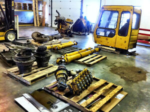 HEAVY EQUIPMENT PARTS LOCATOR  WORLDWIDE- THUMB SELL AND INSTALL Edmonton Edmonton Area image 4