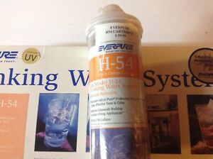 Everpure H-54 Water Filtration System with UV Kitchener / Waterloo Kitchener Area image 2