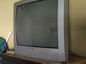 Great working - 2 older style tv's