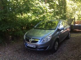 Vauxhall Corsa Silver. Very good condition. No Problems.