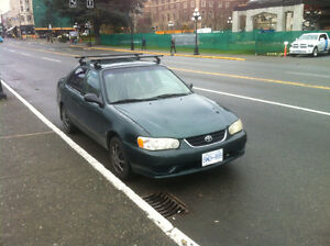 2002 Toyota Corolla plus ce Sedan