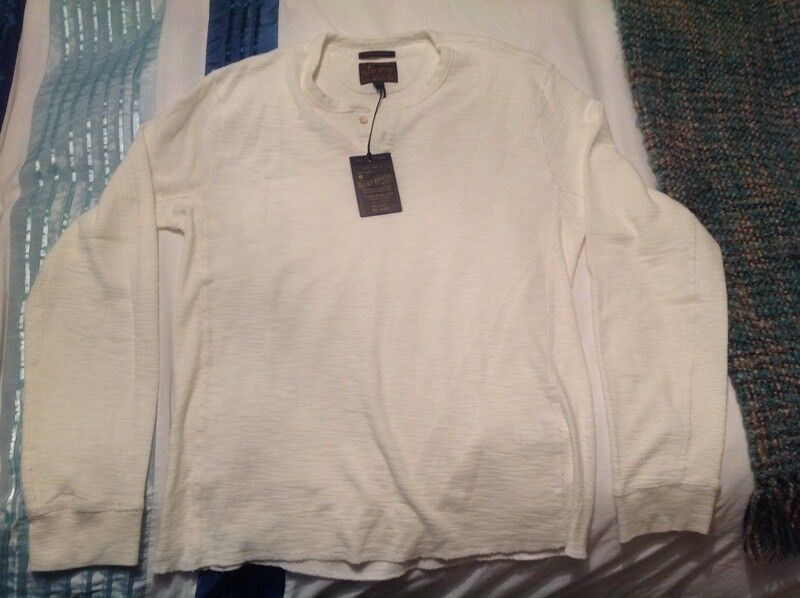 Lucky Brand Lived-in Thermal Henley