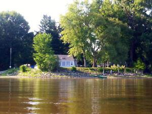 Chalet à louer sur le bord de la rivière Outaouais