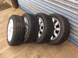 15inch alloy wheels