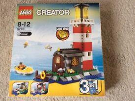 Lego creator lighthouse island