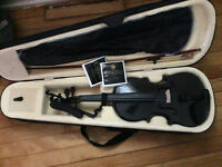 Brand new, never used Violin with extra string and case