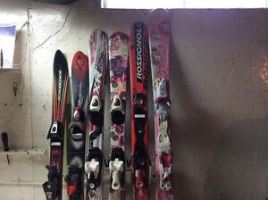 skis alpins garcon