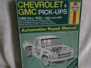 HAYNES Chev & GMC Manual (read AD) Kawartha Lakes Peterborough Area image 2