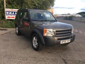 Land Rover Discovery 3 2.7TD V6 ( 7st ) auto 2005MY FINANCE AVAILABLE