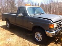 Ford F-250 4x4($1200 if you pull plow)